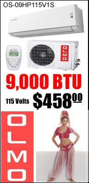 Olmo 9000 BTU Ad