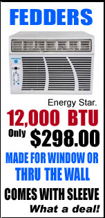 Fedders Air Conditioners Special